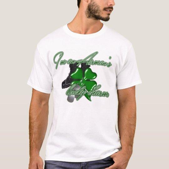 St. Paddy Lucky Charm Airman T-Shirt