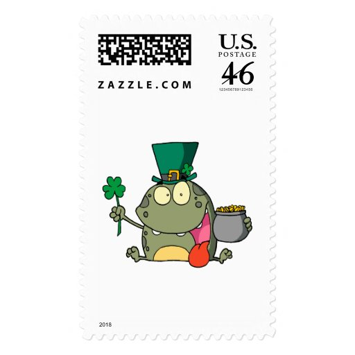 st paddy patty day froggy frog stamps