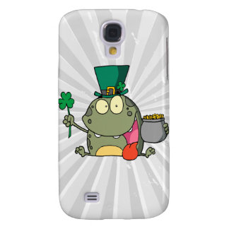 st paddy py day froggy frog galaxy s4 cover