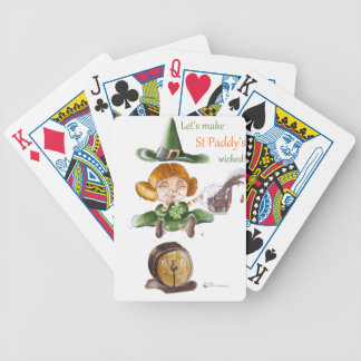 St Paddy' S Détouré.png Bicycle Playing Cards