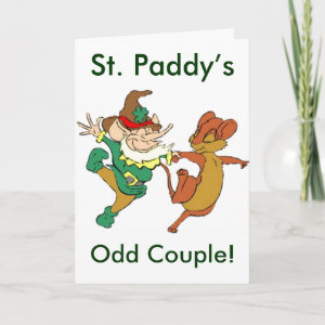 St. Paddy's Odd Couple Card