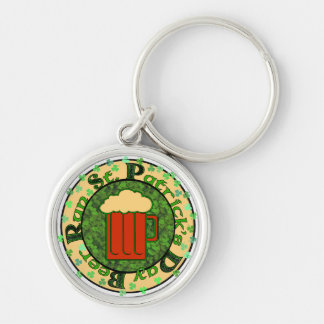 St Paddy's Beer Run Keychain