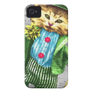 St. Paddys cat Case-Mate iPhone 4 Case