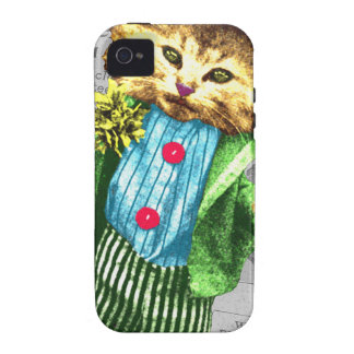 St. Paddys cat Vibe iPhone 4 Cover