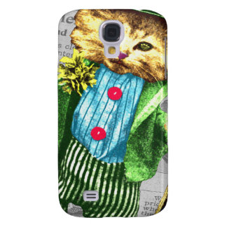 St. Paddys cat Samsung Galaxy S4 Cover