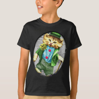 St. Paddys cat T-Shirt