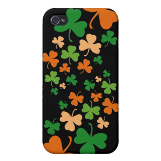 St Paddys Clovers - 4 iPhone 4 Cover