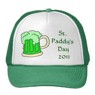 St. Paddy's Day 2011 Green Mug Hat