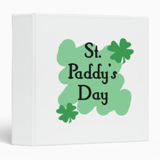 St Paddy's Day Binders