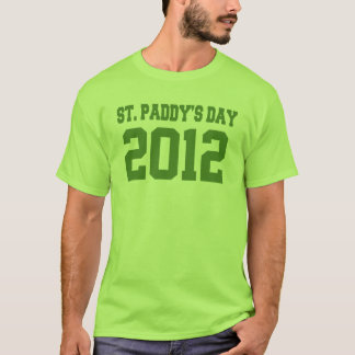 St Paddys Day Changeable Year T-Shirt