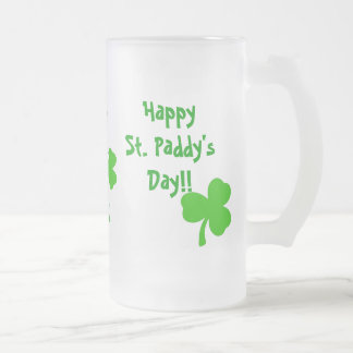 St. Paddy's Day Frosted Mug