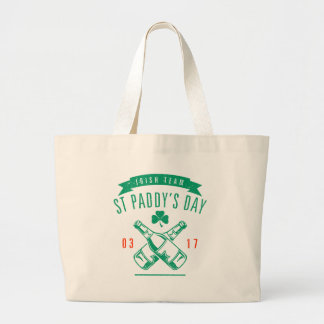 St Paddy's day Large Tote Bag