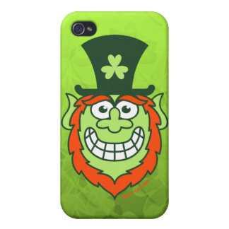 St Paddy's Day Naughty Leprechaun iPhone 4 Cover