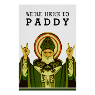 St. Paddy's Day Party Poster