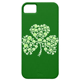 St Paddy's Day Shamrock Skulls iPhone 5 Cover