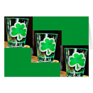 St. Paddy's Day Shotglass Card