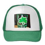 St. Paddy's Day Shotglass Mesh Hat