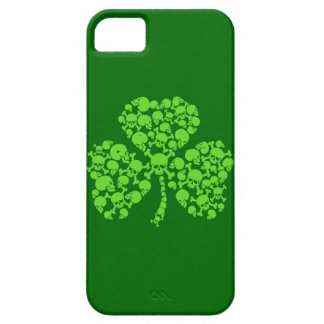 St Paddy's Day Skulls Shamrock iPhone 5 Cover
