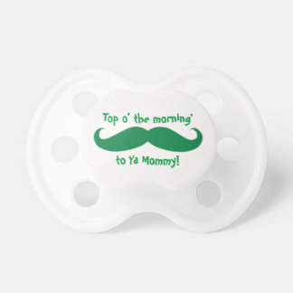 St. Paddy's Day TOP O' THE MORNIN' Baby Pacifier BooginHead Pacifier