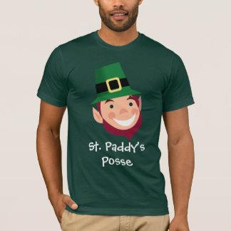 St. Paddy's Posse Irish Leprechaun T-Shirt