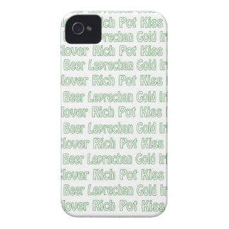 St Paddys Words iPhone 4 Covers