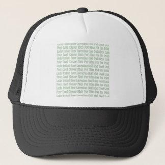 St Paddys Words Trucker Hat