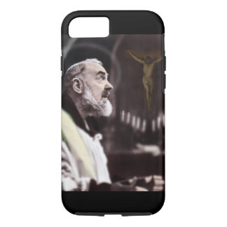ST PADRE PIO CELEBRATING MASS iPhone 7 CASE