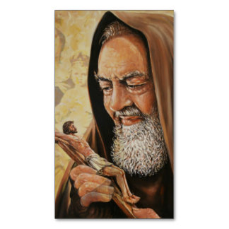 St. Padre Pio Magnetic Cards (25 per pack)