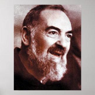 St Padre Pio of Pietrelcina, Poster