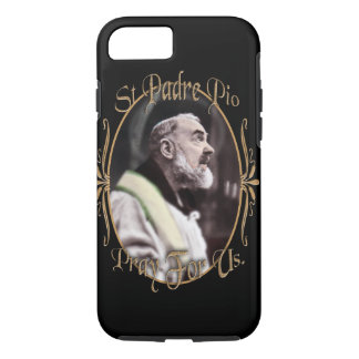 ST PADRE PIO  PRAY FOR US iPhone 8/7 CASE