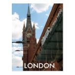 St Pancras Kings Cross London UK postcard