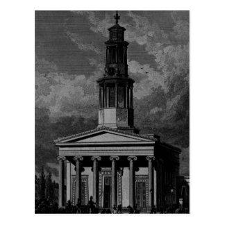 St. Pancrass Church, West Front Postcard