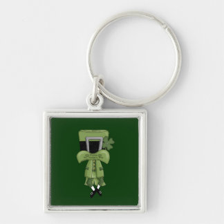 St Pat Lost in his hat Keychain