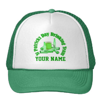 St Patrck's day drinking team Hats