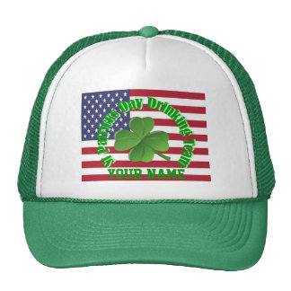 St Patrck's day drinking team Hat