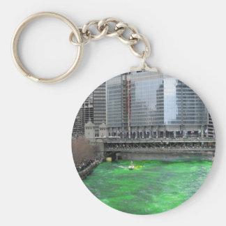 St. Patrick Chicago Keychain