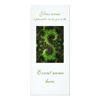 St Patrick Clover Background Card