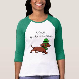 St. Patrick Day Dachshund Cartoon 7 Tees