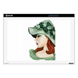 St. Patrick Day Irish lass lilyzm 2.jpg Skin For Laptop