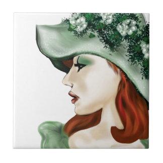 St. Patrick Day Irish lass lilyzm 2.jpg Tile