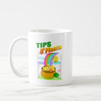 St. Patrick Day Tip Jar (Mug) Coffee Mug