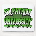 St. Patrick Drinking Team Mousepad