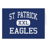 St Patrick Eagles Cedar Rapids medios Iowa Felicitación