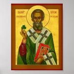 St Patrick Enlightener de Irlanda Impresiones