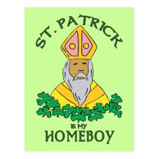 St Patrick es mi Homeboy Tarjetas Postales