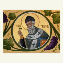 St. Patrick Icon Prayer Card