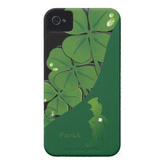 St.Patrick Ireland Shamrock iPhone 4 Case