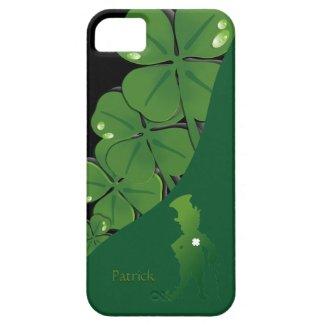 St.Patrick Ireland Shamrock iPhone 5 Case