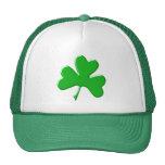 St Patrick Ireland Shamrock Pattern Design Trucker Hats