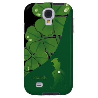 St.Patrick Ireland Shamrock Samsung Galaxy  S4 Cas Galaxy S4 Case